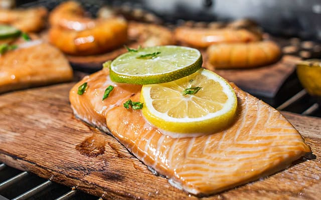 Seared Asian Soy Ginger Salmon