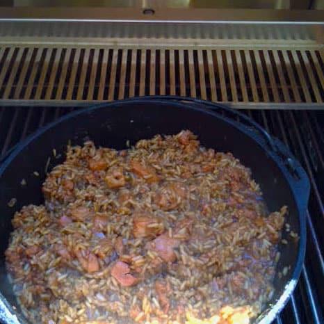 TEC Grills Jambalaya