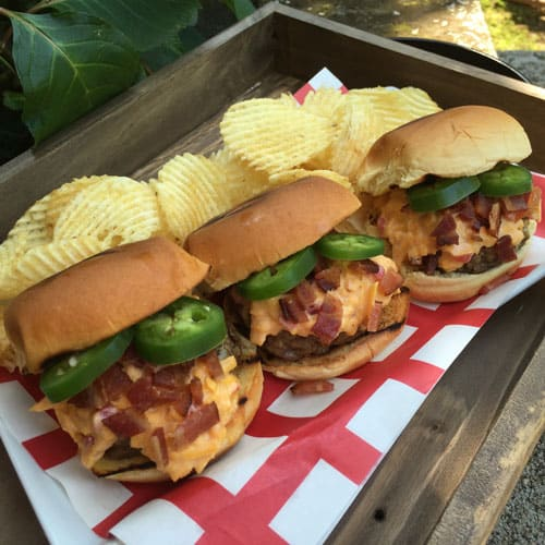 Grills Pimiento Cheese Sliders