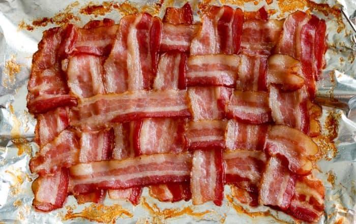 TEC Grills Favorite Bacon Recipes - Bacon Weave