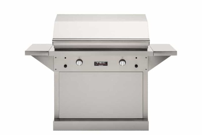 TEC Grills 44in Freestanding Patio FR Grill Stainless Pedestal